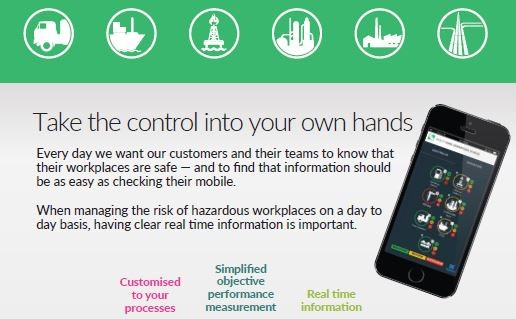 Workplace safety monitoring tool